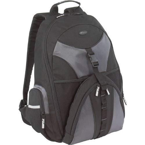 Targus Sports Backpack For 15.6-Inch Laptop, Black Sports Daypack And College Backpack For Travel, Black (Tsb007Us)