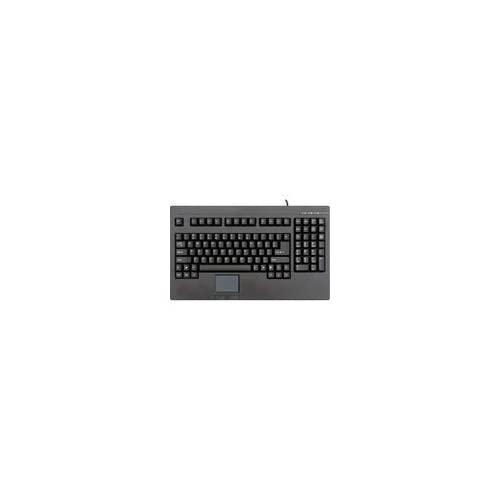 Pos/Rackmount Keyboard With Built In Touch Pad Usb Connector Black