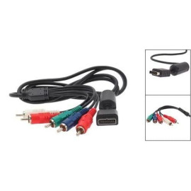 Analog Av Multi Out To Component Cable For Playstation 3/Ps2