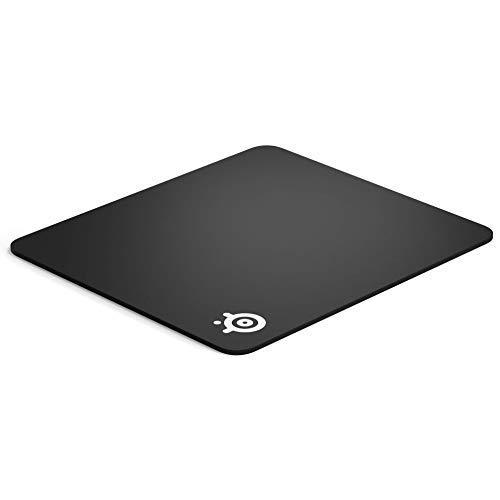 Steelseries Qck Gaming Surface - Large Thick Cloth - Peak Tracking And Stability - Optimized For Gaming Sensors - Maximum Control