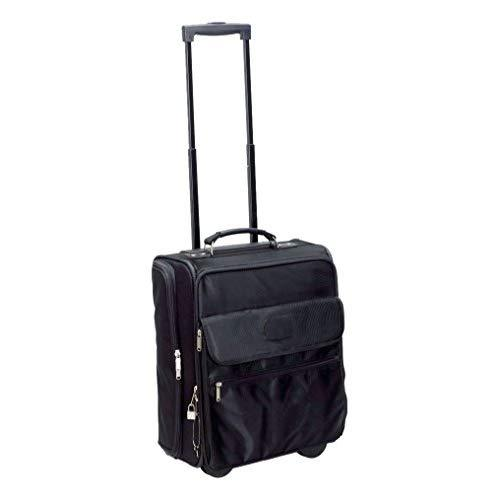 Preferred Nation Rolling Computer Case/Overnighter, Black
