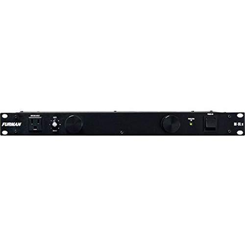 Furman M-8Lx Standard Level Power Conditioning, 15 Amp, 9 Outlets With Wall Wart Spacing, Pullout Lights