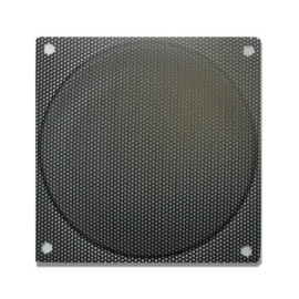 Okgear 80Mm Steel Mesh Filter/Grill Black