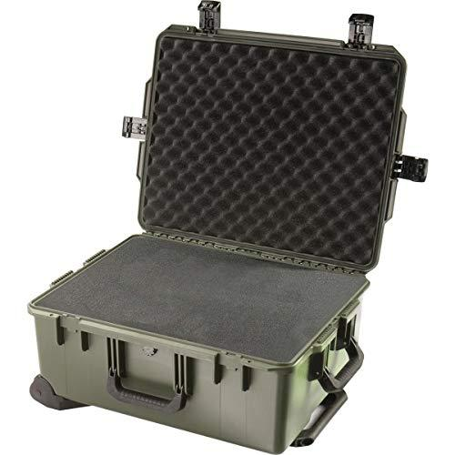 Pelican Im2720 Case With Wheels, Watertight, Padlockable Case, With Multilayer Cubed Foam Interior, Olive Drab