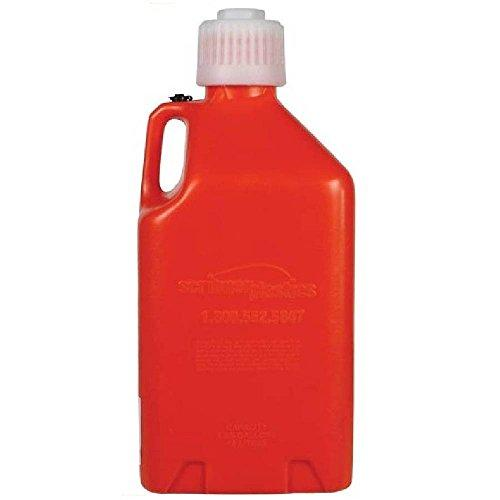 Scribner Plastics 2000O Orange 5 Gallon Utility Jug