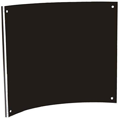 Deflect-O Superior Image Magnetic Certificate Holder, Plastic, 8.5 X 11 Inches, Clear (680375)