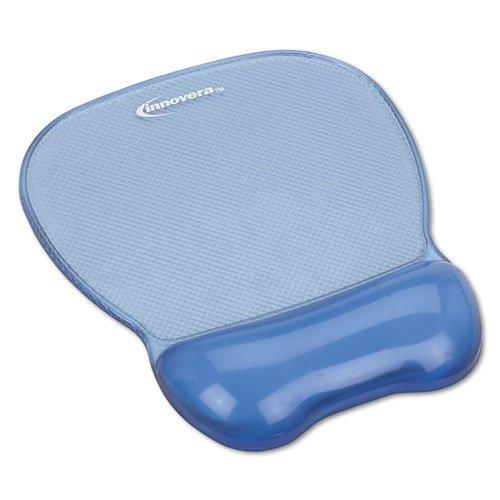 Innovera Gel Mouse Pad With Wrist Rest, Nonskid Base, 8-1/4 X 9-5/8 Inches, Blue (51430)