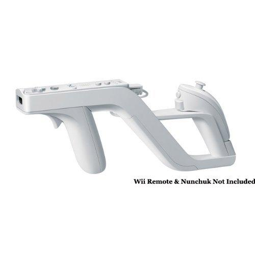 Zapper Light Gun For Nintendo Wii (Links Remote/Nunchuk For Shooting Games)