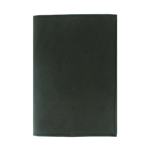 Piel Leather Passport Cover, Black, One Size