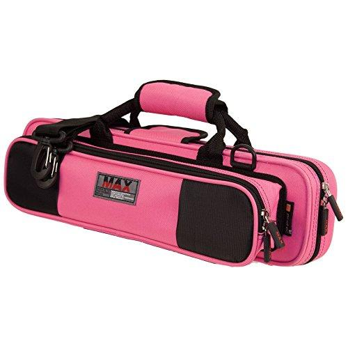 Protec Flute (B Or C Foot) Max Case - Fuchsia, Model Mx308Fx