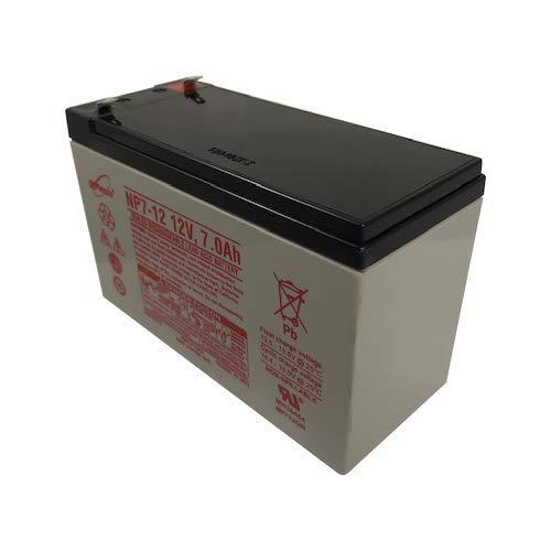 Enersys Np7-12 12V 7Ah Sealed Lead Acid Battery - Genuine Enersys Product