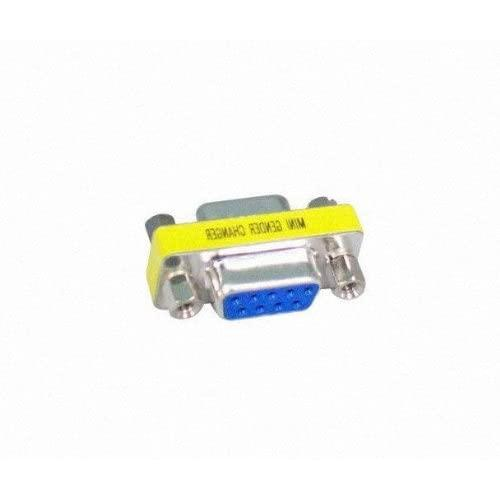 Your Cable Store Serial 9 Pin Female/Female Coupler Adapter Db9 Rs232