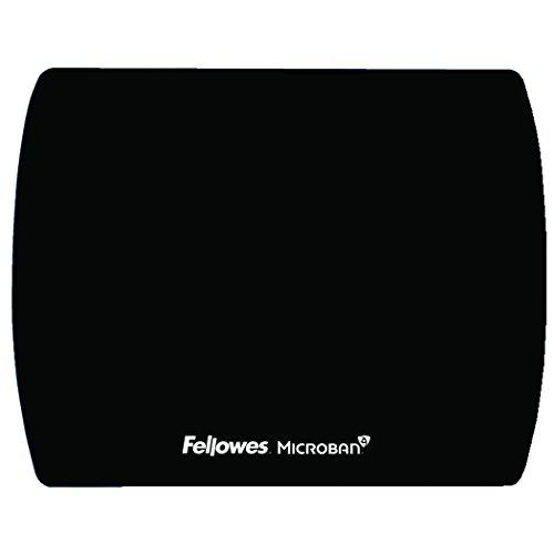 Fellowes Microban Black Ultra Thin Mouse Pad (5908101)