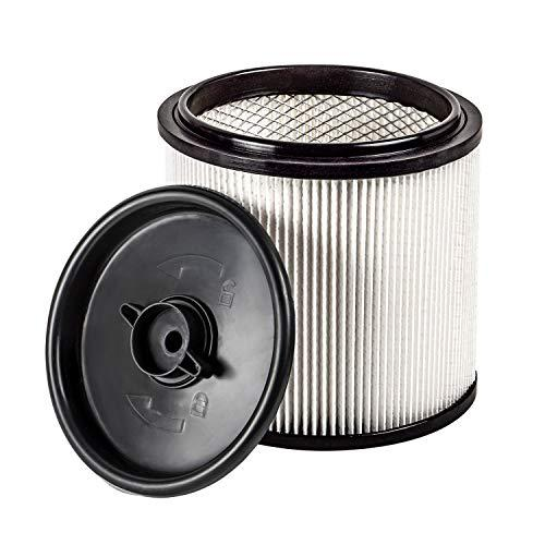 Vacmaster Hepa Material Fine Dust Cartridge Filter &Amp; Retainer, Vcfh