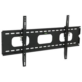 Mount-It! Low-Profile Tilting Tv Wall Mount Bracket For 75 70 65 60 55 50 Inch Lcd, Led, Oled, 4K, Plasma Flat Screen Televisions - 175 Lbs Capacity, 1.5 Inch Slim Profile, Fits Vesa 850X450, 600X400