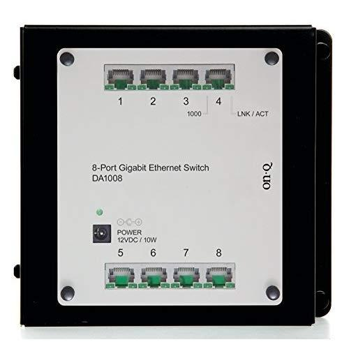 Legrand - On-Q Da1008 8-Port Gigabit Switch