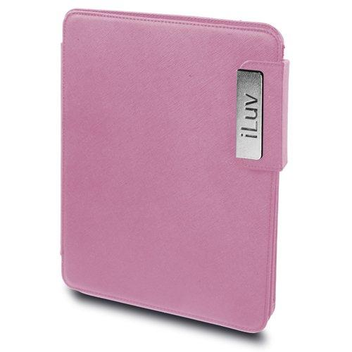 Iluv Leather Cover For Ipad - Pink