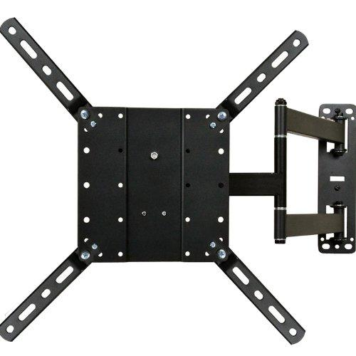 "Videosecu Articulating Full Motion Tv Mount Wall Bracket For Most 26""-65"" Lcd Led Plasma Tv Fits Vesa 400X400 400X300 400X200 300X300 200X200-88 Lbs Load Capacity A47"