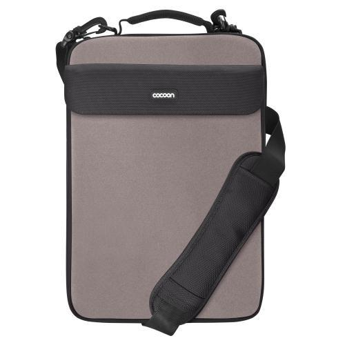 "Cocoon Cls407Gy Nolita Ii Neoprene 16"" Laptop Sleeve Includes Grid-It! Accessory Organizer (City Gray)"
