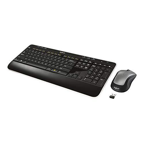Logitech Mk520 Wireless Keyboard And Mouse Combo - Keyboard And Mouse, Long Battery Life, Secure 2.4Ghz Connectivity