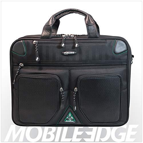 Mobile Edge Scanfast Checkpoint And Eco Friendly Laptop Briefcase 16 Inch Pc, 17 Inch Mac For Men, Women, Business Travel, Student, Black Mesfbc2.0