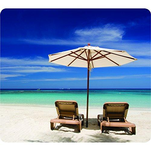 Recycled Optical Mousepad - Beach Chairs (5909501)