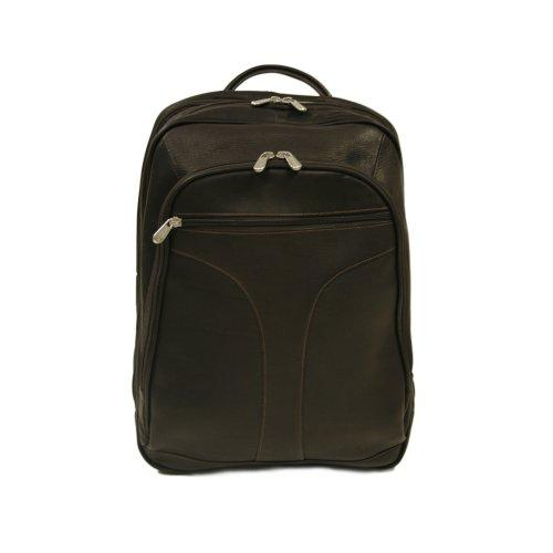 Piel Leather Checkpoint Friendly Urban Backpack, Chocolate, One Size