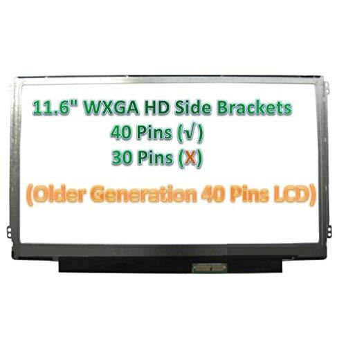 """Au Optronics B116Xw03 V.0 Side Brackets Laptop Lcd Screen 11.6"""" Wxga Hd Led (Substitute Replacement Lcd Screen Only. Not A Laptop ) (Will Not Work For V.2)"""