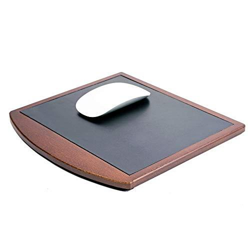 Dacasso Leather Mouse Pad, Walnut