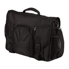 """Gator Cases Club Series Dj Controller Messenger Bag With Bright Orange Interior; Fits 19"""" Controllers (G-Club Control)"""
