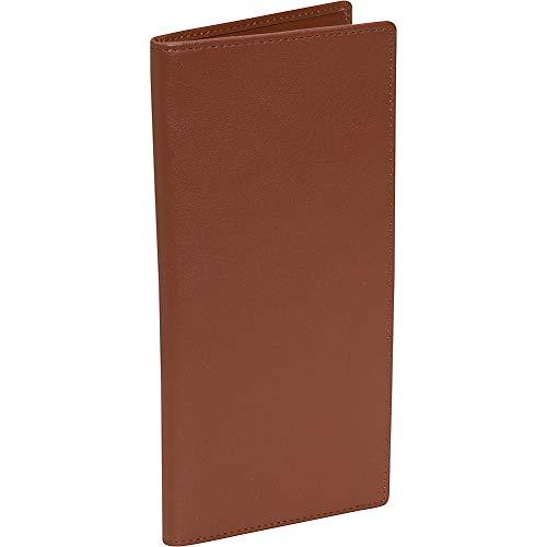 Royce Leather Rfid Blocking Passport Ticket Organizer In Leather, Tan
