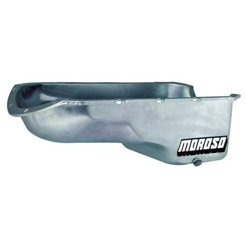 "Moroso 20492 7-1/8"" Stock Replacement Oil Pan For Pontiac 301-455 Engines"