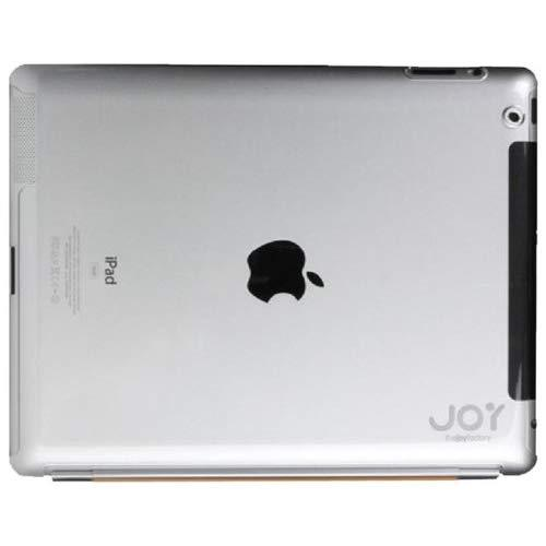 The Joy Factory Smartfit2 Ipad 2 Smart Cover Compatible Ultra-Thin Snap-On Hard Case Aad116, Clear