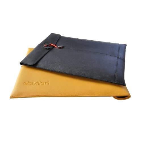 "Civilian Manila-11(Tm) Leather Laptop Sleeve For Macbook Air 11"" (Fits Most Netbooks) (R) - Mango"