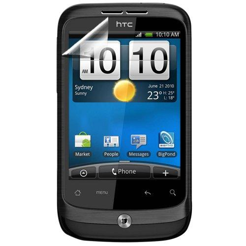 Hypercel Anti-Glare Screen Protector For Htc Wildfire - 1 Pack - Screen Protector - Retail Packaging - Clear