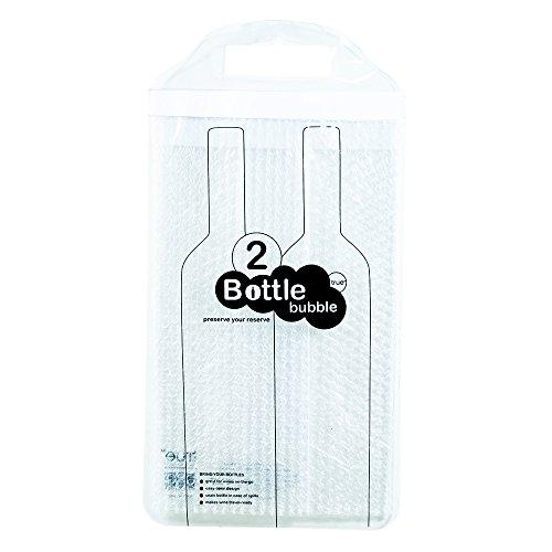 The Bottle Bubble Protector For Two Bottles By True
