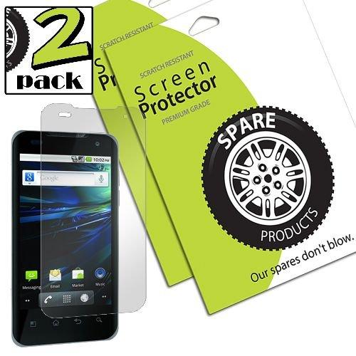 Spare Products Screen Protector Film For Lg Optimus 2X/G2X - 1 Pack - Retail Packaging - Clear