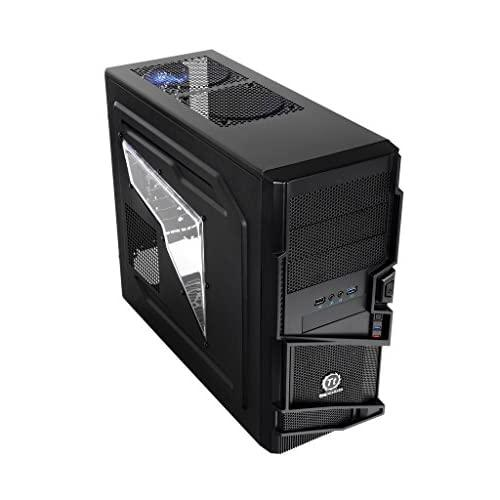Thermaltake Commander Ms-I Mid Tower Atx Gaming Computer Case Vn400A1W2N Black