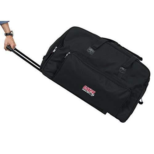 "Gator Cases Rolling Speaker Bag For Standard Format 15"" Loudspeakers With Retractable Pull Handle (Gpa-715)"