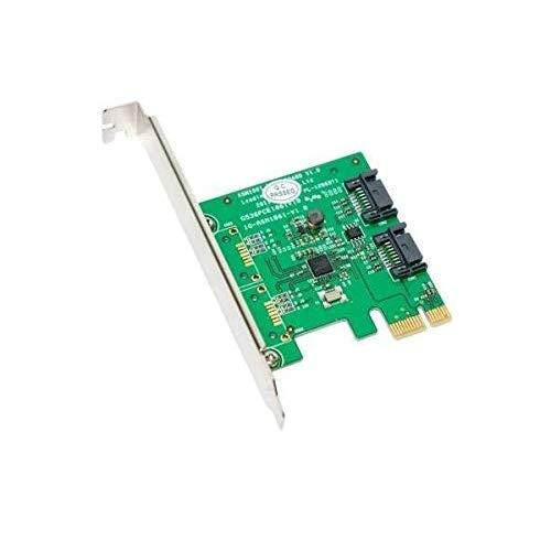 I/O Crest 2 Port Sata Iii Pci-E 2.0 X1 Controller Card Asmedia Asm1061 Non-Raid With Low Profile Bracket Sy-Pex40039