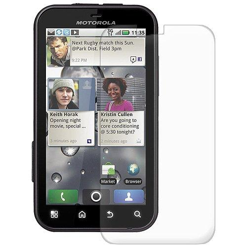 Amzer Anti-Glare Screen Protector With Cleaning Cloth For Motorola Defy Mb525