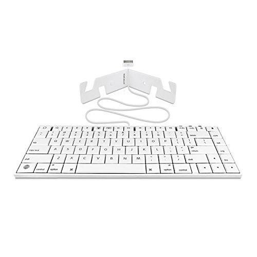 Macally 30 Pin Wired Keyboard For Ipad 3/2/1, Iphone 4S/4/3G/3, And Ipod Touch (Ikey30)