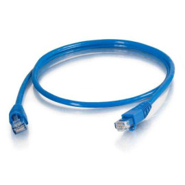 C2G 10282 Cat5E Cable - Snagless Unshielded Ethernet Network Patch Cable, Taa Compliant, Blue (7 Feet, 2.13 Meters)