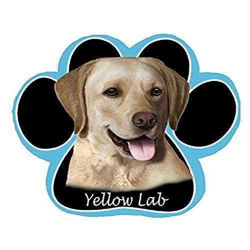 Yellow Labrador Dog Paw Non-Slip Mousepad