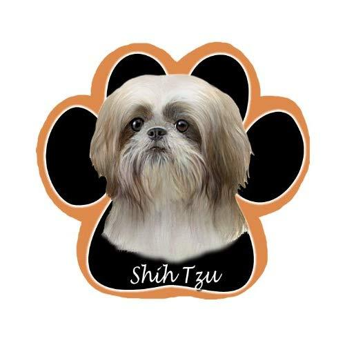 Tan Shih Tzu Dog Paw Non-Slip Mousepad