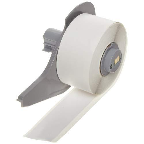 "Brady High Adhesion Vinyl Label Tape (M71C-1000-595-Wt) - White Vinyl Film - Compatible With Bmp71 Label Printer - 50' Length, 1"" Width"