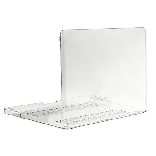 """Topcase Clear Crystal See Thru Hard Case Cover For Macbook Pro 13-Inch 13"""" (A1278 / With Or Without Thunderbolt) -Not For Retina Display- With Topcase Mouse Pad"""