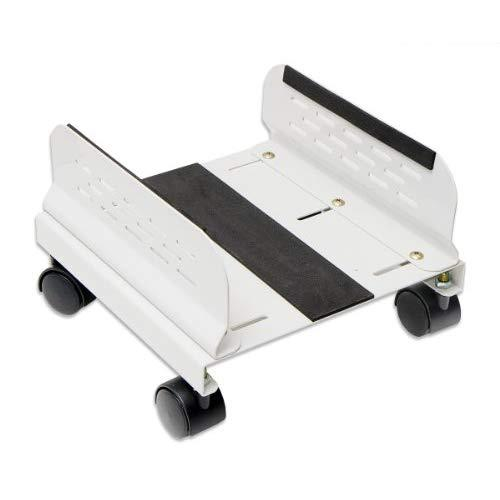 Mobile Desktop Tower Computer Floor Stand Rolling Caster Wheels With Ventilation And Adjustable Width From 6 To 10 Inches