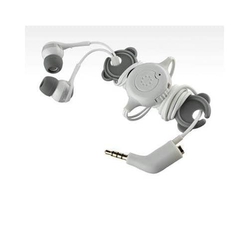 Memorex 98502 In-Ear Headphones With Phone Control And Sharing Plug