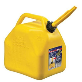 Scepter 7649 Jerry Self-Venting Gas Can, 5.3 Gal, Polyethylene